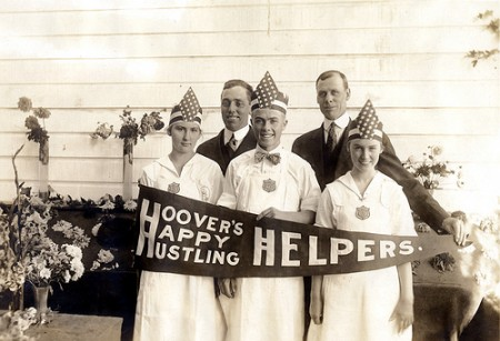 Hoover's Happy Hustling Helpers ca 1917