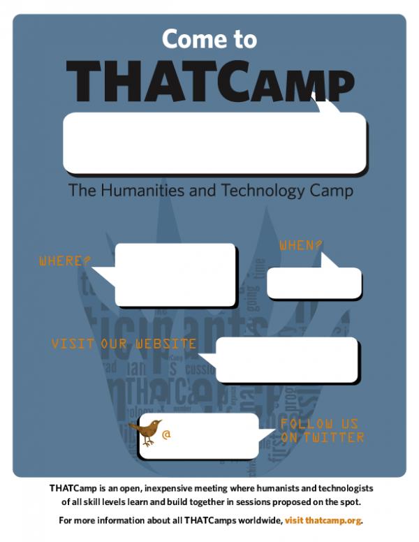 THATCamp Flier