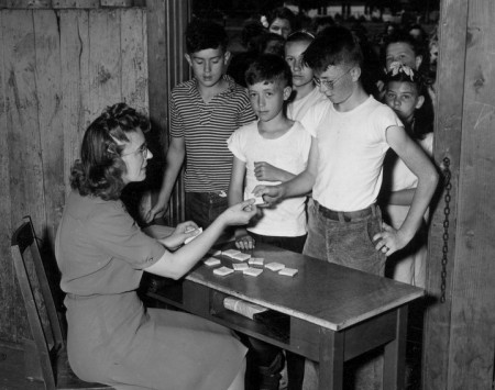 Victory Farm Volunteers registration, Lane County, July 1946