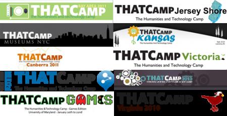 THATCamp logo mosaic